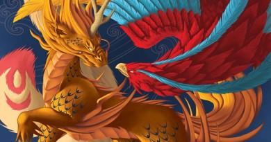 «De la Corne du kirin aux ailes du fenghuang»