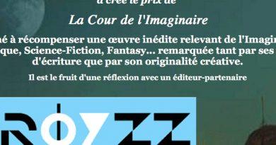 28/2/22 – Prix de La Cour de l'Imaginaire 2022